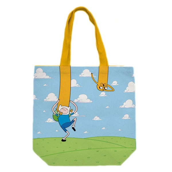 Adventure Time - Finn And Jake Play Swing Tote Bag