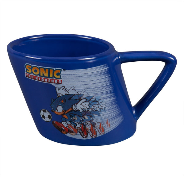 Sonic The Hedgehog - Soccor Zoom Tilted Coffee Mug