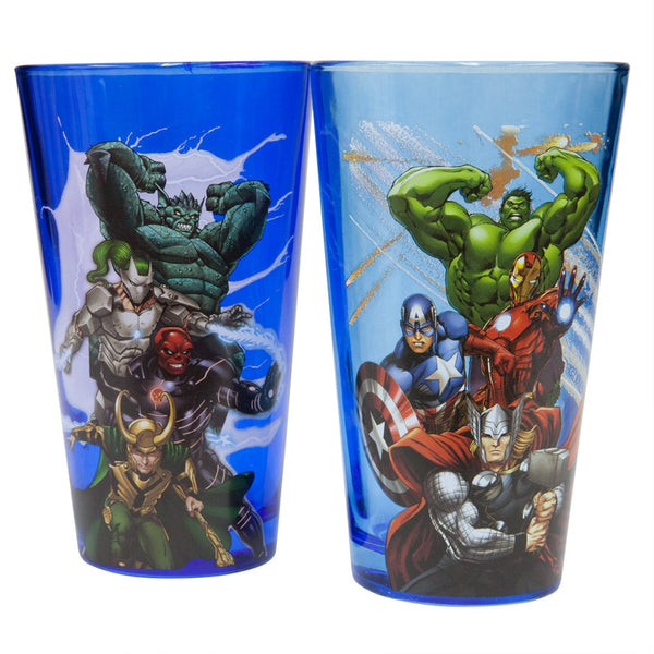 Avengers - Avengers & Villains Pint Glass Set