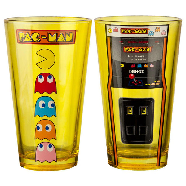 Pacman - Arcade Game Console Pint Glass Set
