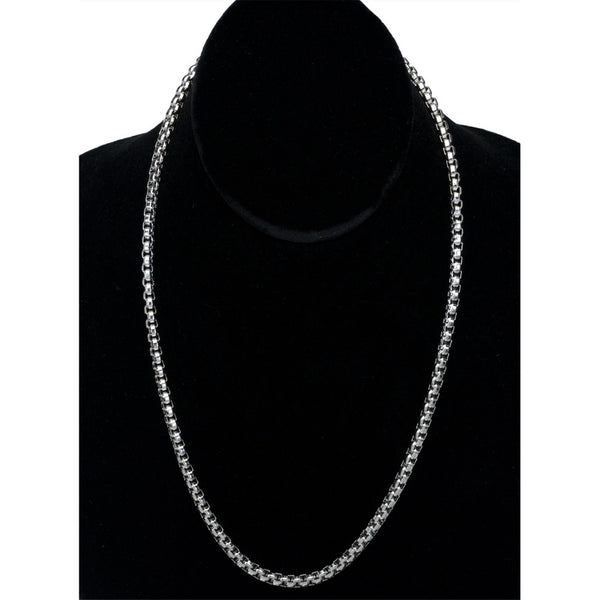 8mm Extra Large Boxchain Stainless Steel Necklace