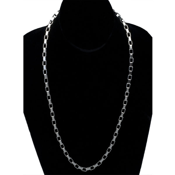 5mm Boxchain Stainless Steel Necklace