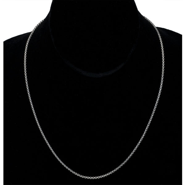 1.75mm Boxchain Stainless Steel Necklace