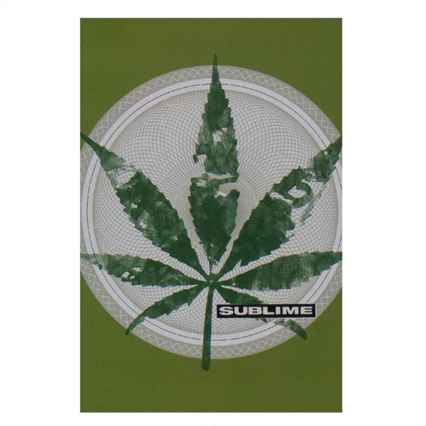 Sublime - Leaf Logo Tapestry