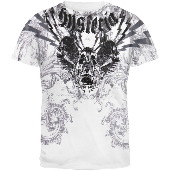 Hysteria Skull Graphic T-Shirt