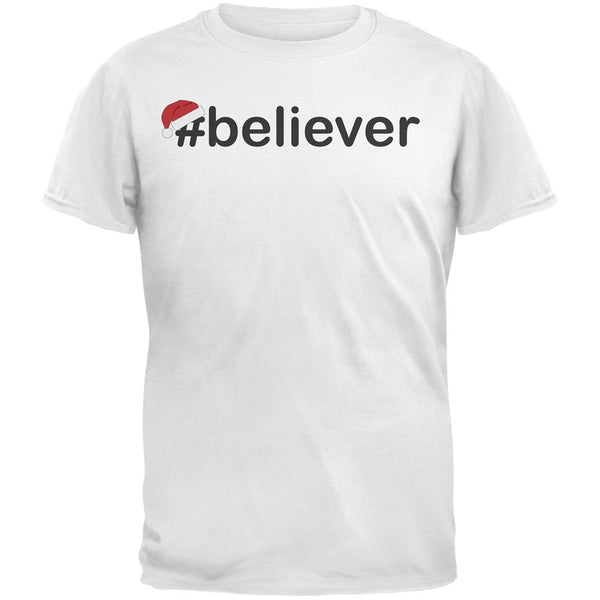 #Believer Santa Youth Green T-Shirt