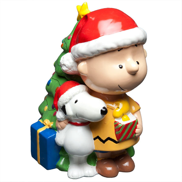 Peanuts - Charlie Brown Christmas Snack Jar