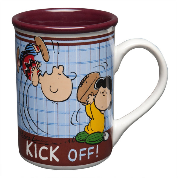 Peanuts - Charlie Brown Kick Off Coffee Mug
