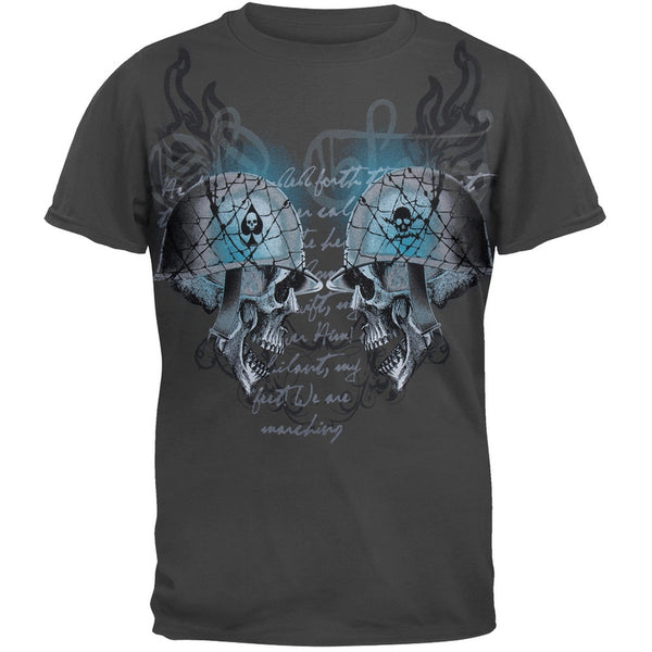 Battle Skulls Graphic Youth T-Shirt