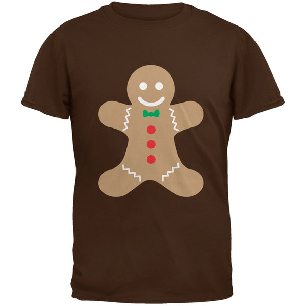 Gingerbread Man Brown Youth T-Shirt