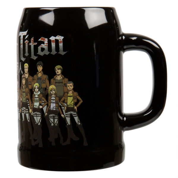 Attack On Titan - Cadet Group Shot Ceramic Stein