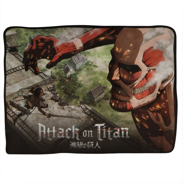 Attack On Titan - Big Red Attacks Fleece Blanket