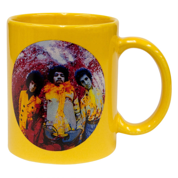 Jimi Hendrix - Experienced Fish Eye Lense 11oz Coffee Mug