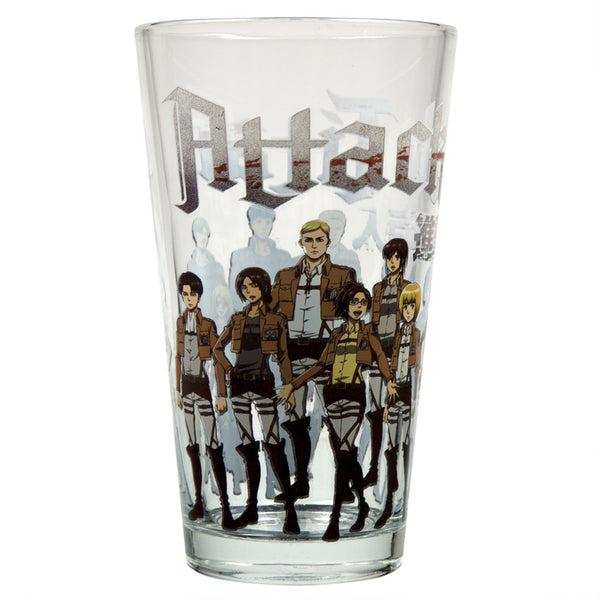 Attack On Titan - Cadet Squad Pint Glass
