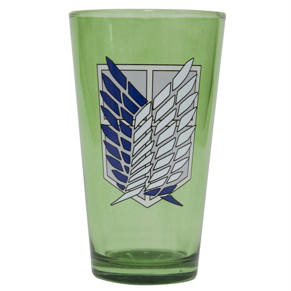Attack On Titan - Scout Shield Pint Glass