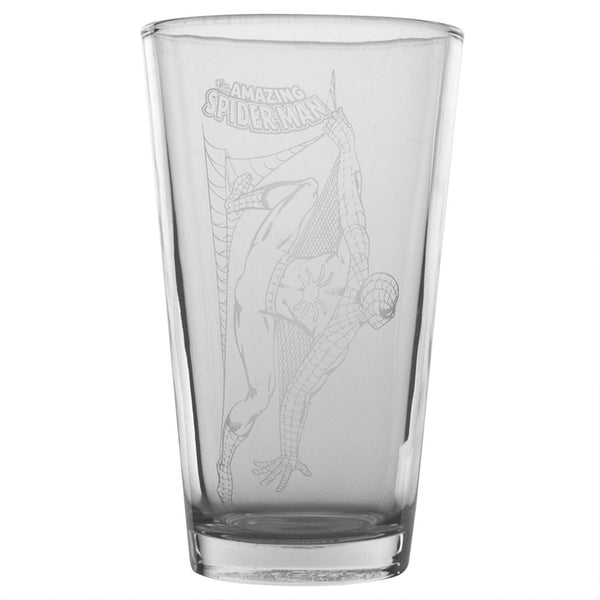Spider-Man - Flies Etched Pint Glass