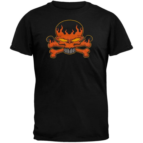Flaming Crossbones T-Shirt