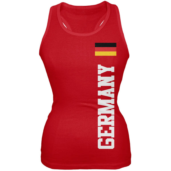 World Cup Germany Red Juniors Tank Top