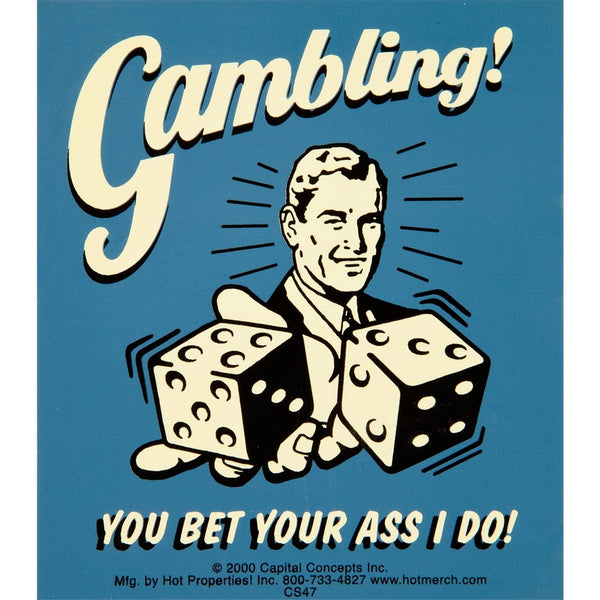 Gambling Decal
