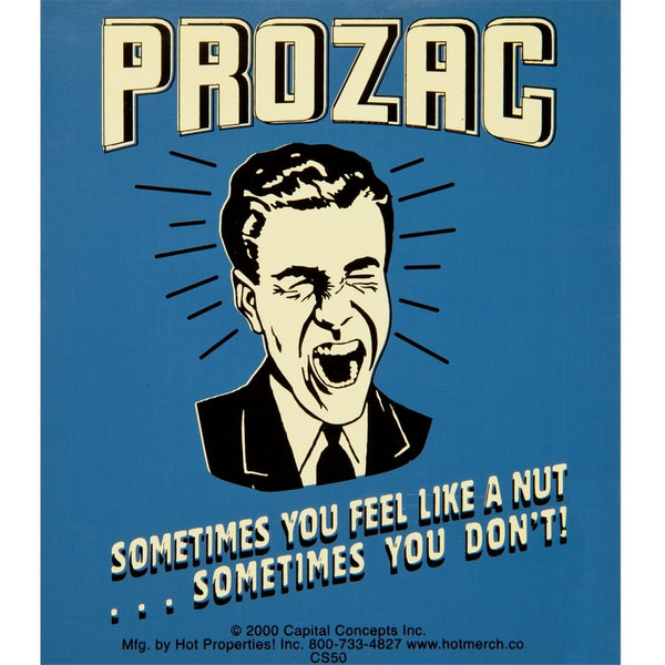 Prozac Decal