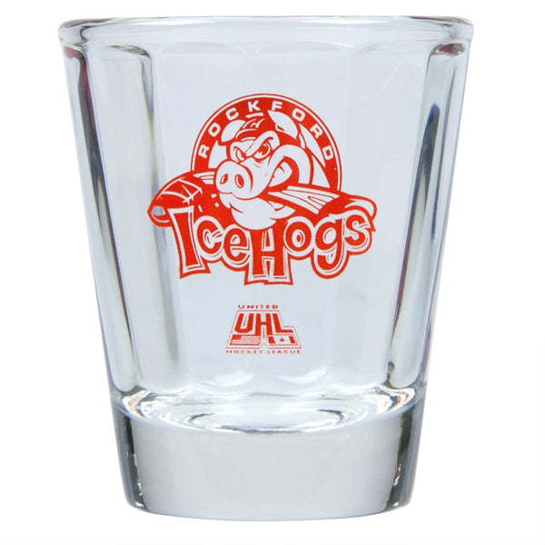 Rockford Ice Hogs - Logo Shot Glass