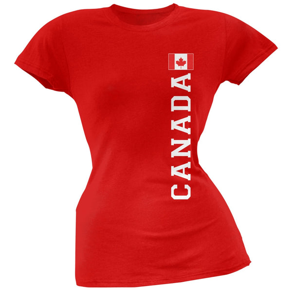 World Cup Canada Red Soft Juniors T-Shirt