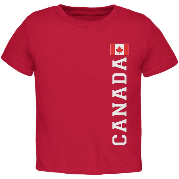World Cup Canada Red Toddler T-Shirt