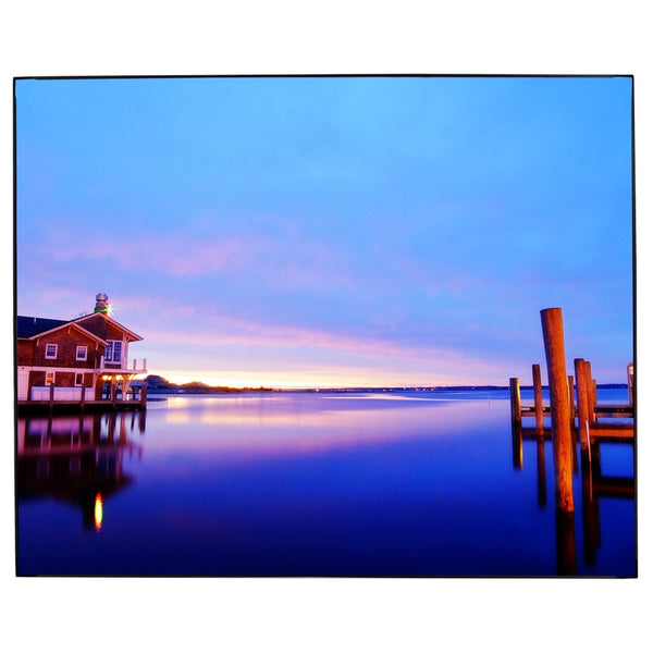 Lake House Sunset Photo Framed Wall Art James Crouch