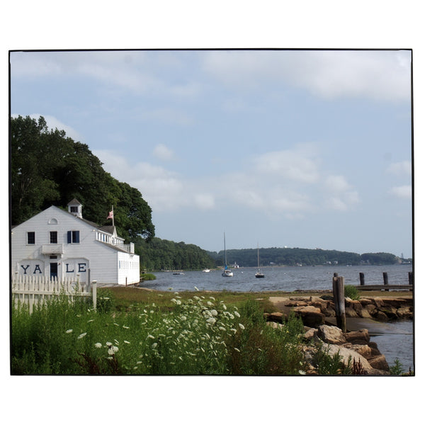 Yale Boat House Photo Framed Wall Art James Crouch