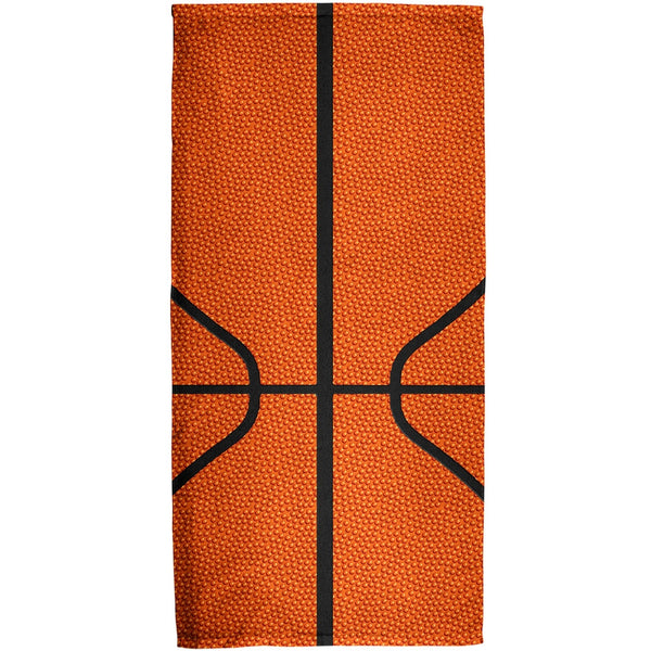 Basketball All Over Bath Towel