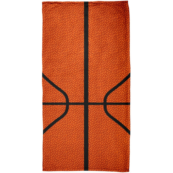 Basketball All Over Beach Towel