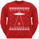 Alien Abduction Ugly XMAS Sweater Forest Adult Sweatshirt