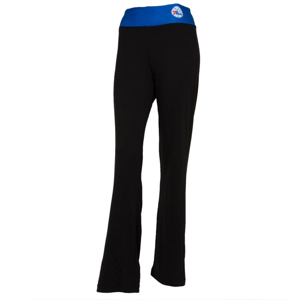 Philadelphia 76ers - Flip Down Waistband Logo Juniors Yoga Pants