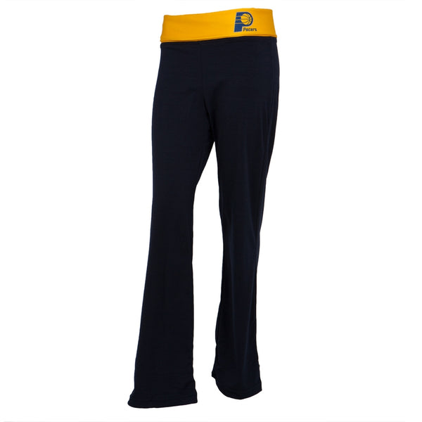 Indiana Pacers - Flip Down Waistband Logo Juniors Yoga Pants