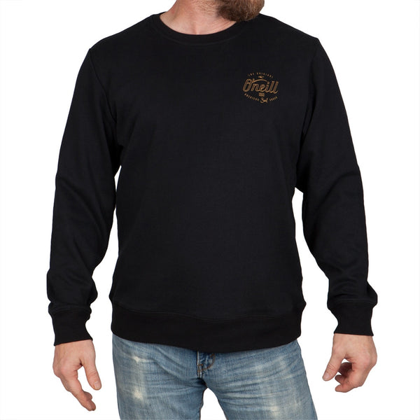 O'Neill - Beginning Black Crew Neck Sweatshirt