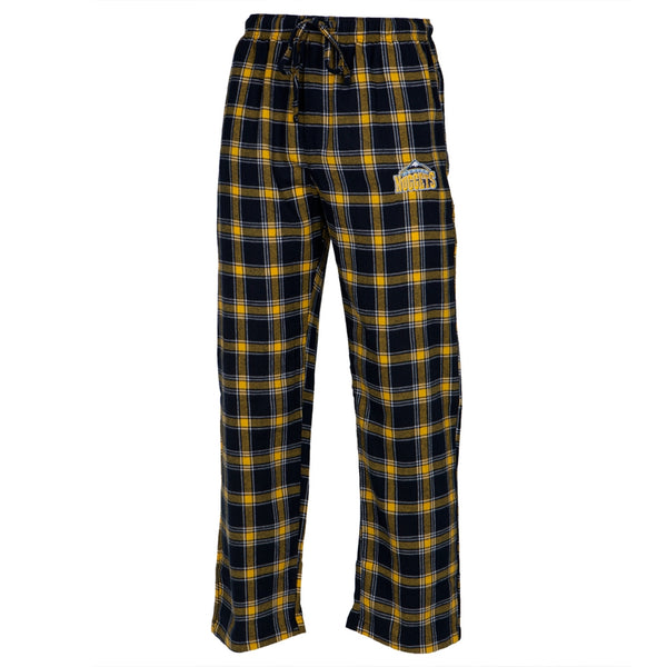 Denver Nuggets - Logo Plaid Lounge Pants
