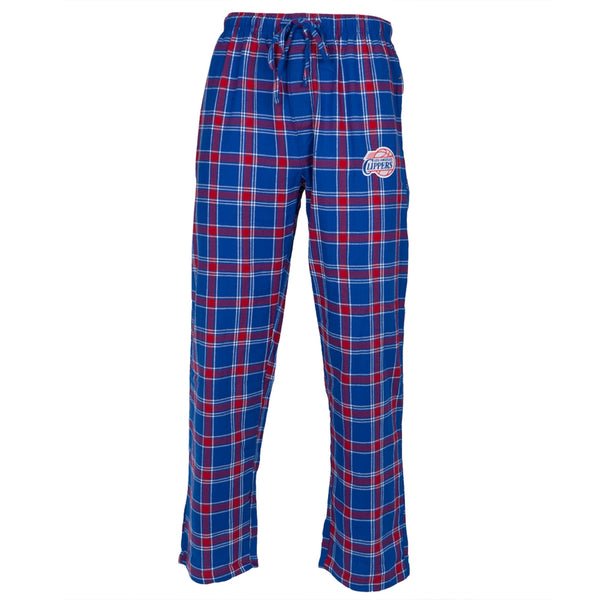 Los Angeles Clippers - Logo Plaid Lounge Pants