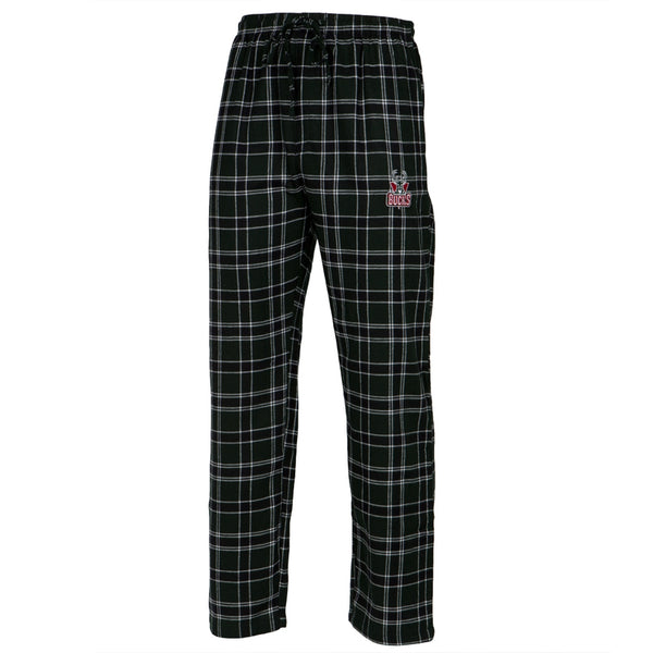 Milwaukee Bucks - Logo Plaid Lounge Pants