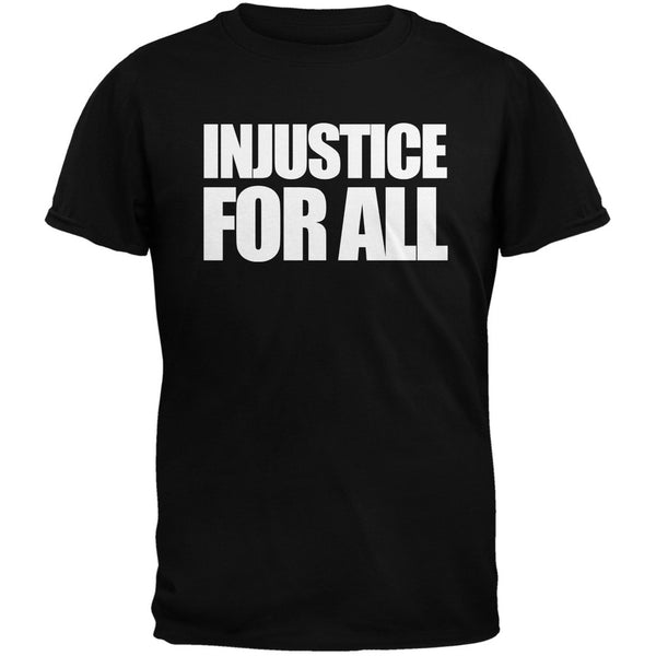 Injustice For All Military Green Adult T-Shirt