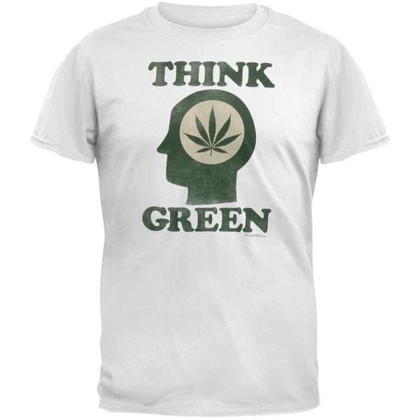 Think Green Adult T-Shirt