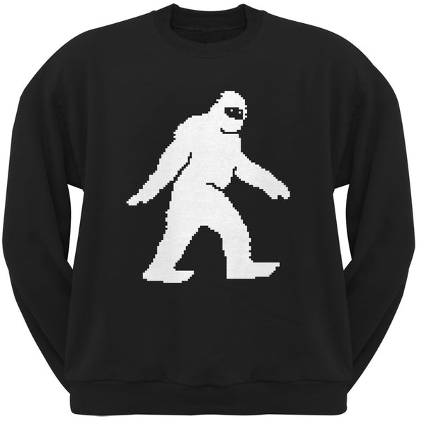 8-Bit Sasquatch Black Sweatshirt