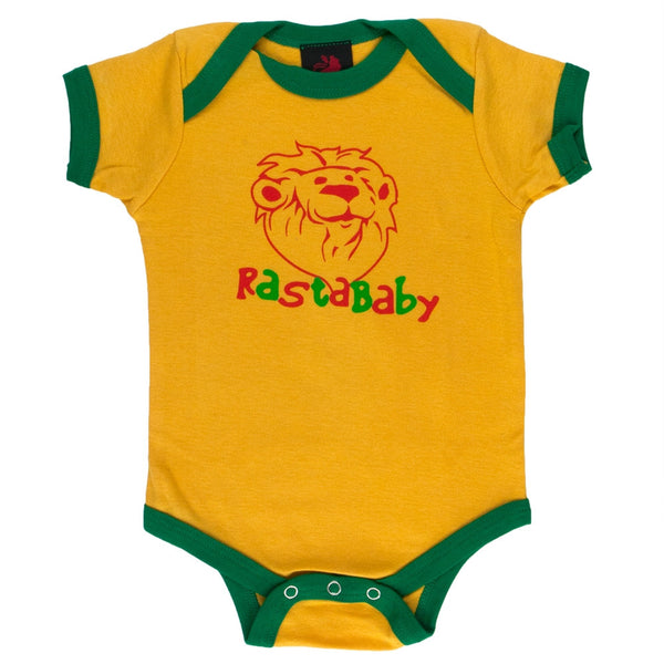 Rastafari - Rasta Baby Baby One Piece