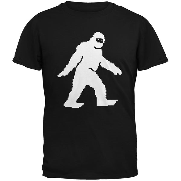 8-Bit Sasquatch Black Youth T-Shirt