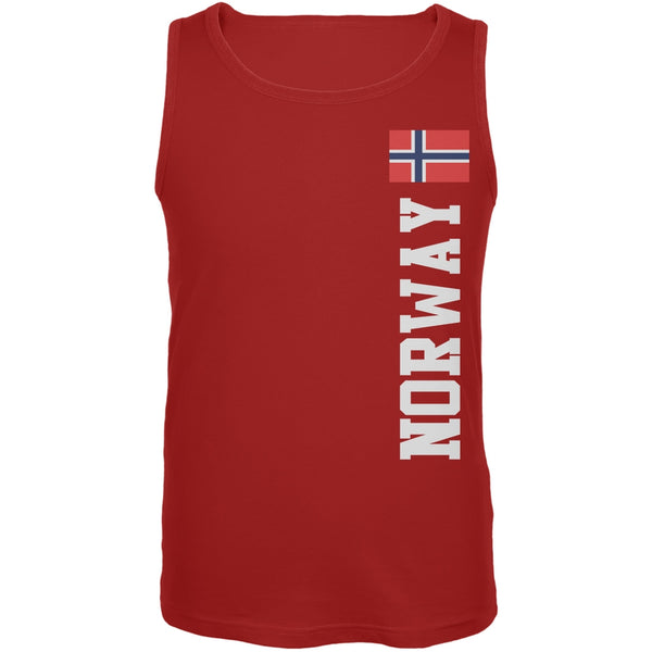 World Cup Norway Red Adult Tank Top