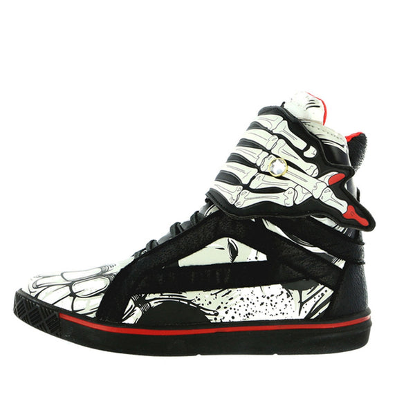 Iron Fist - Bonebreaker Black High Top Sneakers