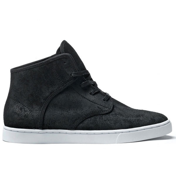 Kr3w - Grant Black Mid Top Sneakers