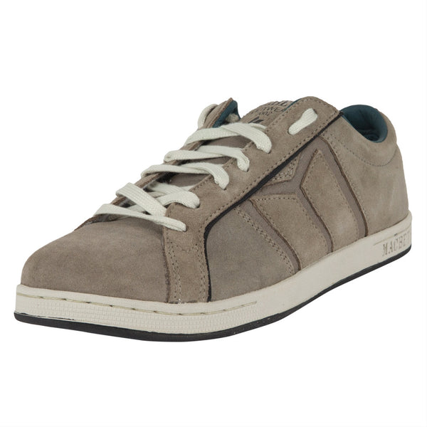 Macbeth - Winston Feather Grey & Marine Suede Shoes