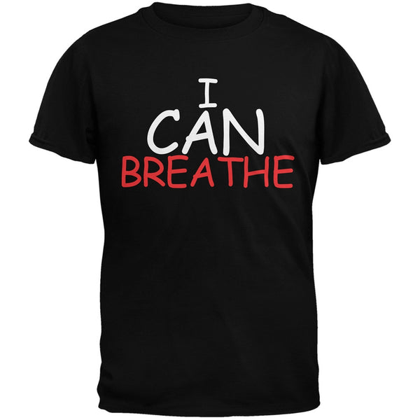 I Can Breathe Black Adult T-Shirt