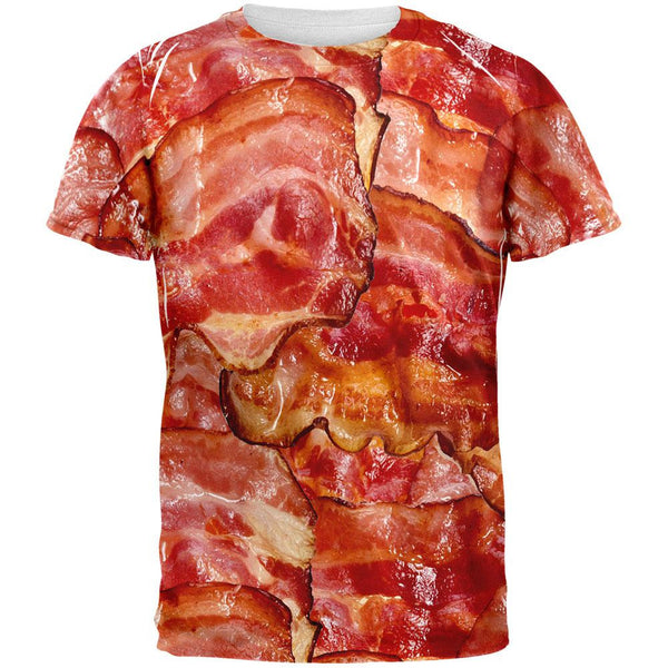 Bacon All Over Adult T-Shirt