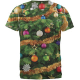 Christmas Tree Costume All Over Adult T-Shirt